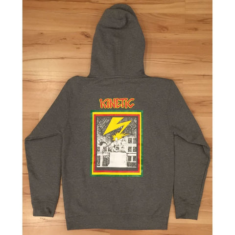 Kinetic Banned In DE Pullover Hoodie (Gunmetal Grey)