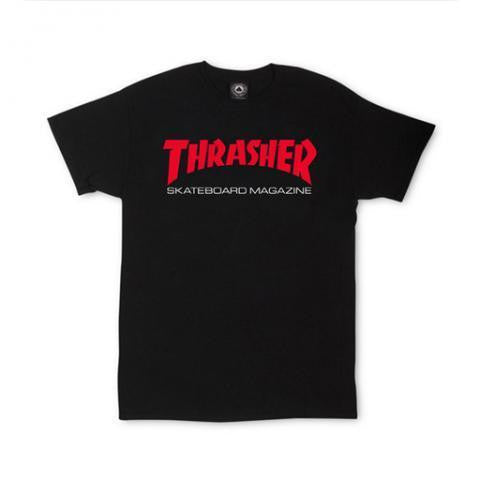 Thrasher Two Tone Sk8 Mag T-Shirt Black