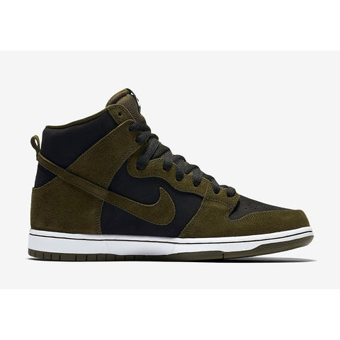 Nike SB Dunk High Pro (Dark Loden/Black)