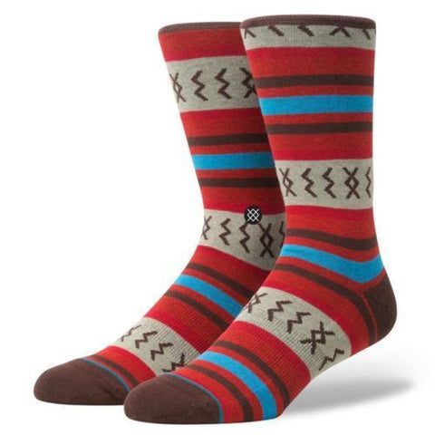Stance Mexicali Rose Sock (Red)