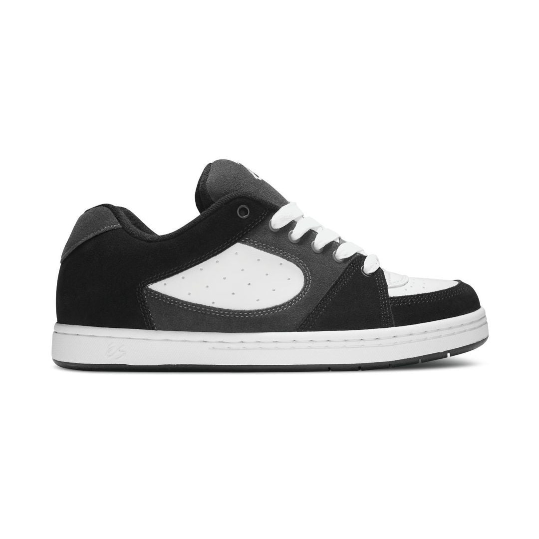 Es Mens Accel Og Black Grey White Skate Shoe   C4KQIO9KR