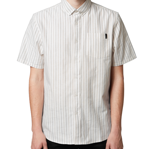 Altamont Frith Short Sleeve Woven (Dirty White)