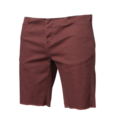 Altamont A/979 5 Pocket Shorts (Oxblood)