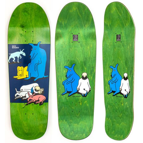 Polar Boserio All My Dogs Deck Beast 9.75
