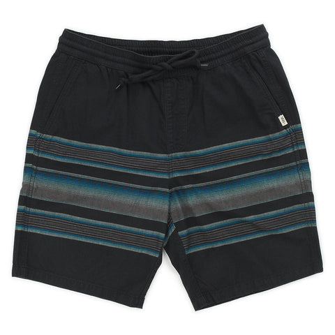 Vans Range Stripe Shorts (Black/Rockaway Stripe)