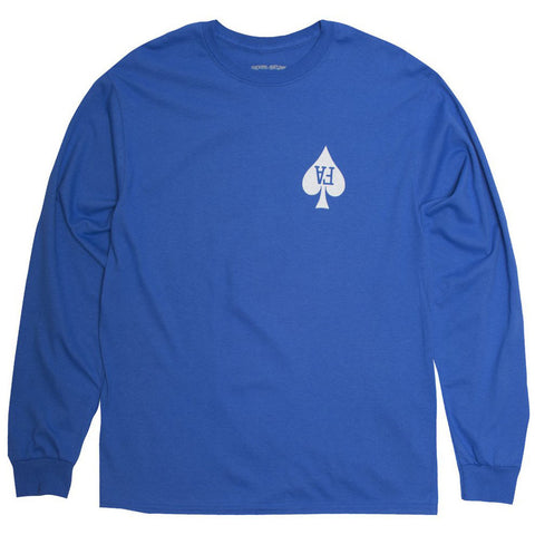 Fucking Awesome Hearts L/S (Royal)