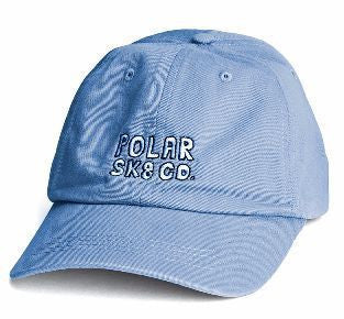 Polar Sk8 Co. Cap (Powder Blue)