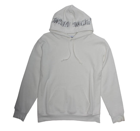 Fucking Awesome Logo Hooded Sweatshirt (Cream)