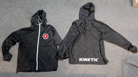 Kinetic K Lightweight Hooded Jacket (Black)