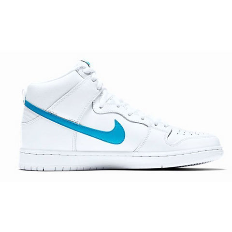 Nike SB Dunk High TRD QS (White/Orion Blue/White)