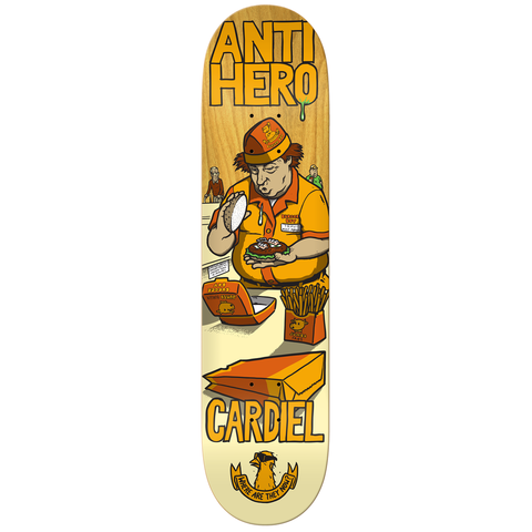 Anti-Hero Cardiel Where Now Deck (8.18)