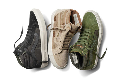 Vans X Defcon Sk8-Hi Notchback (Multicam Jungle)