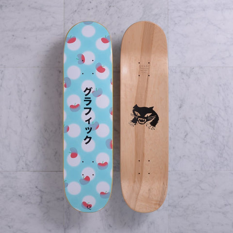 Quasi Graphic Deck Teal (8.125)