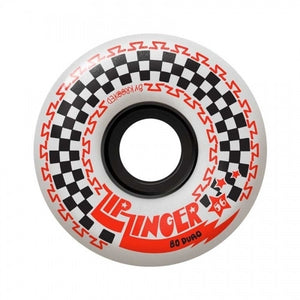 Krooked Zip Zinger Wheels White (56MM)