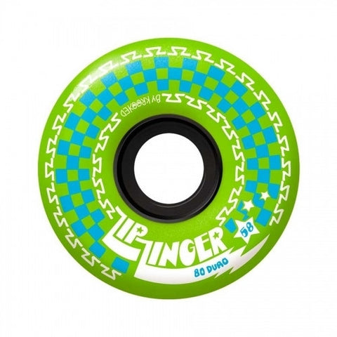 Krooked Zip Zinger Wheels Green (58MM)