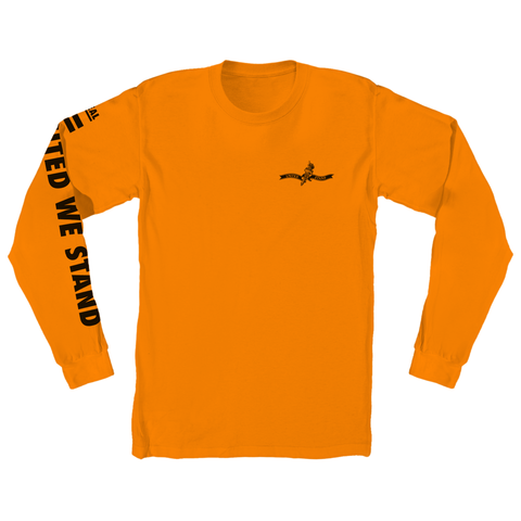 Real AR United We Stand L/S Tee (Orange)