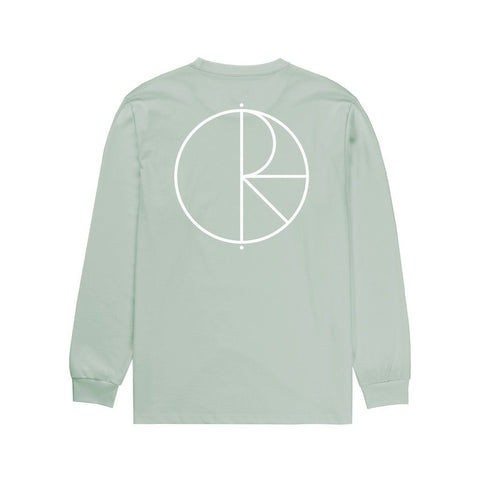 Polar Stroke Logo Long Sleeve T-Shirt (Sea Foam)