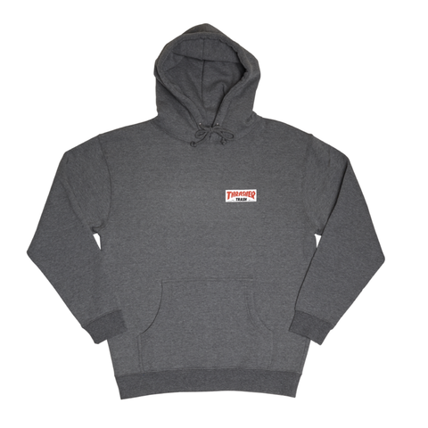 Fucking Awesome X Thrasher Trash Me Hood Heather Grey