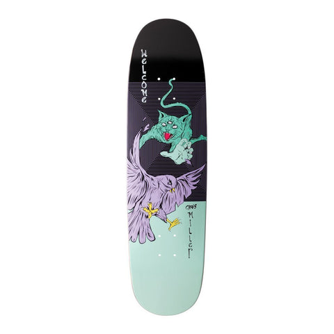 Welcome Miller Prequel On Catblood 2.0 Deck Black/Teal (8.75)
