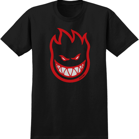 Spitfire Youth Big Head Fill HD Tee (Black/Red)