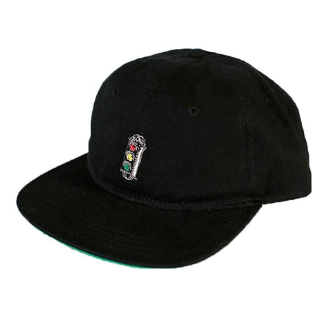 Traffic Stop/Go Snapback Hat (Black)