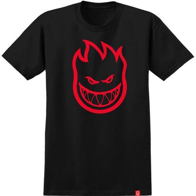 Spitfire Youth Bighead Fill T-Shirt (Black/Red)