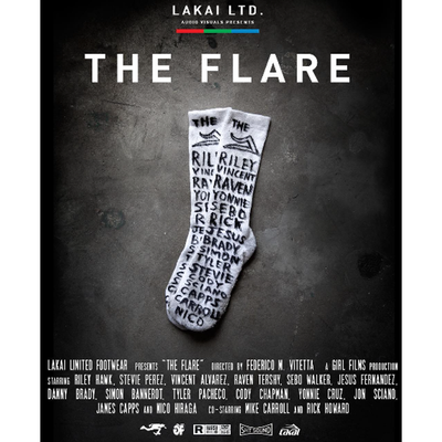 Lakai The Flare DVD