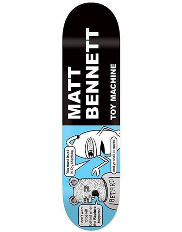 Toy Machine Bennett Tracts Deck (8.375)