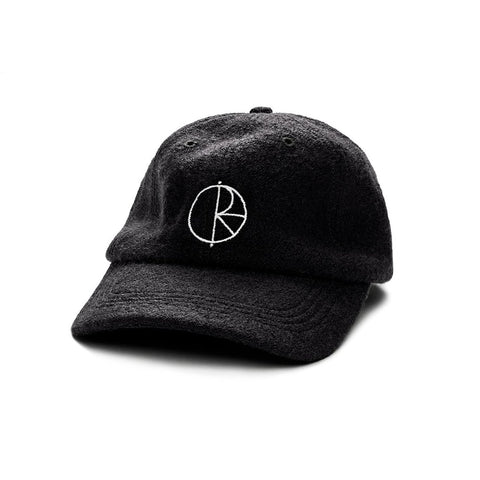 Polar Boiled Wool Cap (Black)
