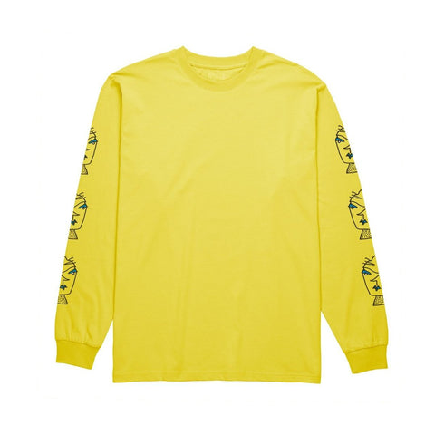 Polar Heads L/S Tee (Shock Yellow)