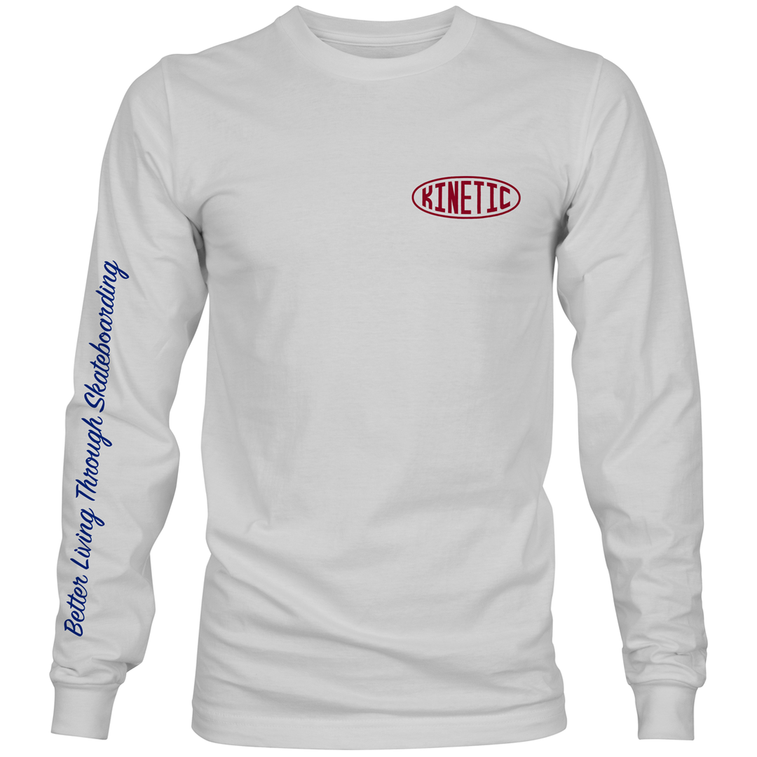 Kinetic Better Living L/S Tee (White)