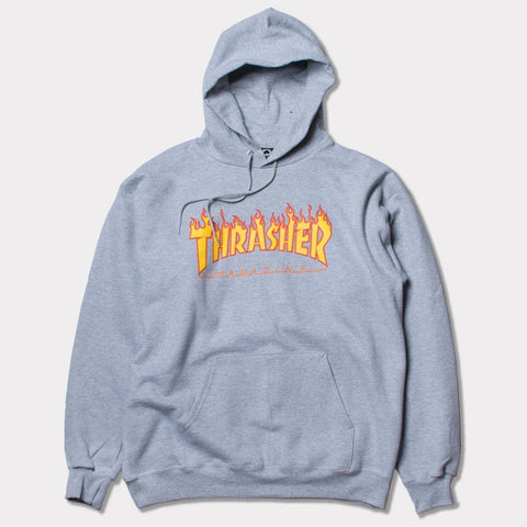 Thrasher Flame Hood (Grey)