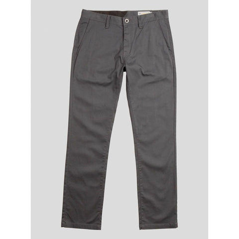 Volcom Frickin Modern Stretch Chinos (Charcoal)