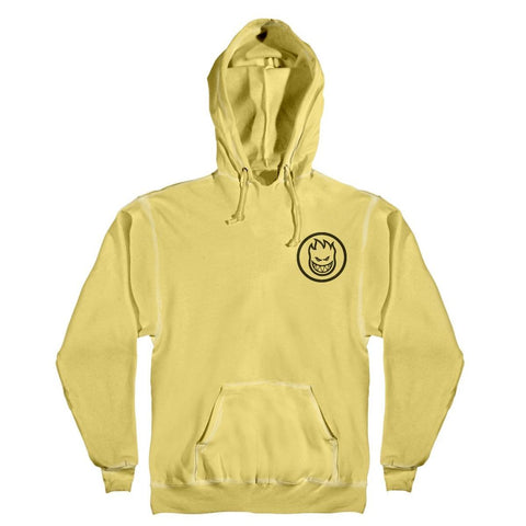 Spitfire Classic Swirl Hooded Sweatshirt (Lemon/Black)