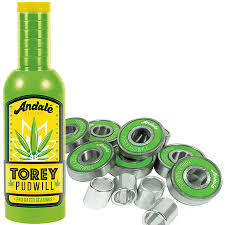 Andale Torey Pudwill Green Sauce Wax and Bearings