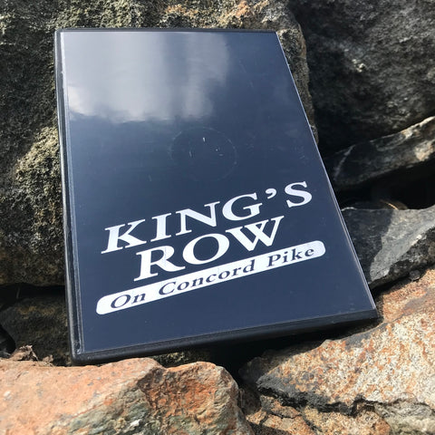 Shipped/Kinetic Shop Video- King's Row DVD
