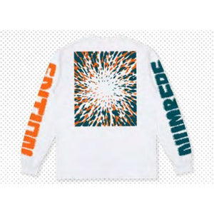 Numbers Edition 12:45 Swirl L/S T-Shirt (Off White)