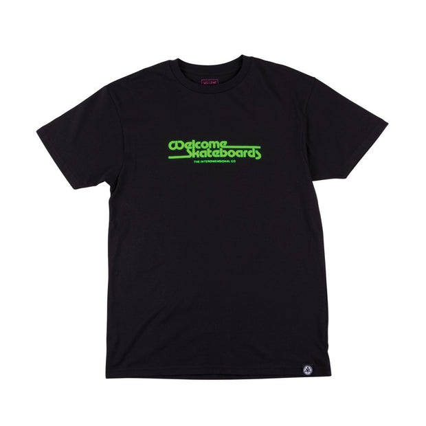 Welcome WORMHOLE TEE (Black)