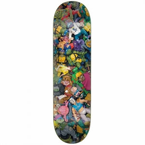 Santa Cruz x TMNT Toy Everslick Deck (8)