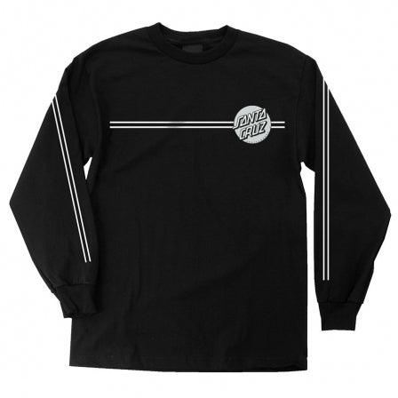 Santa Cruz Other Dot L/S T-Shirt Black/Silver