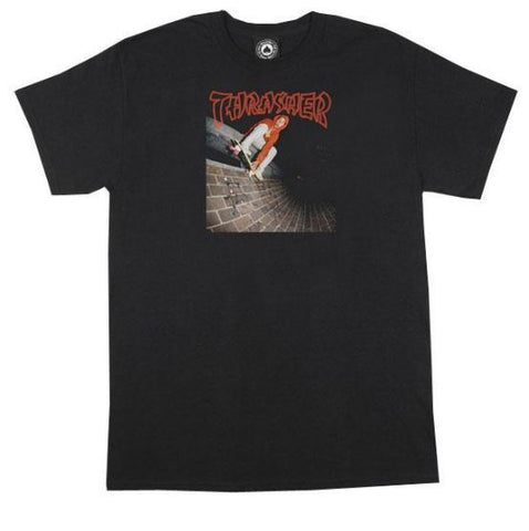 Thrasher China Banks Tee Black