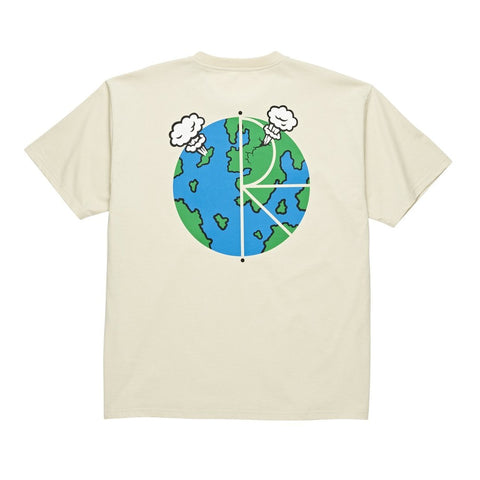 Polar World Fill Logo T-Shirt (Sand)