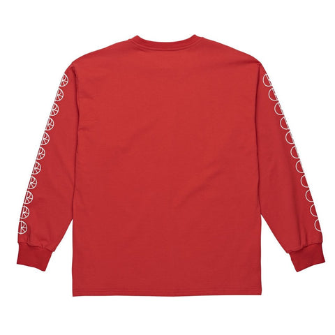 Polar Racing Longsleeve T-Shirt (Red)