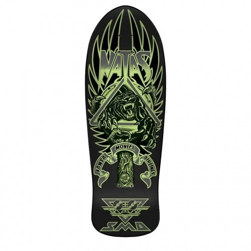 Santa Cruz Natas Panther 3 Glow In The Dark ReIssue Deck (10.538)