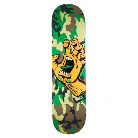Santa Cruz Screaming Hand Wide Tip Deck 8.25