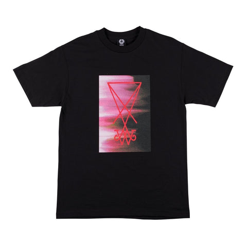Welcome Smear Tee (Black)