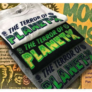 Terror of Planet X Mature Readers Tee (Grey)