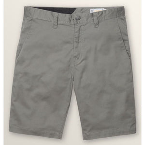 Volcom Frickin Modern Chino Stretch Shorts (Dusty Green)