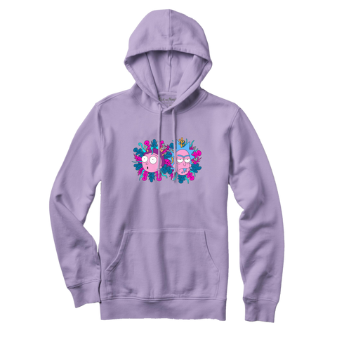 Primitive x Rick and Morty Dirty P Hoody (Lavender)