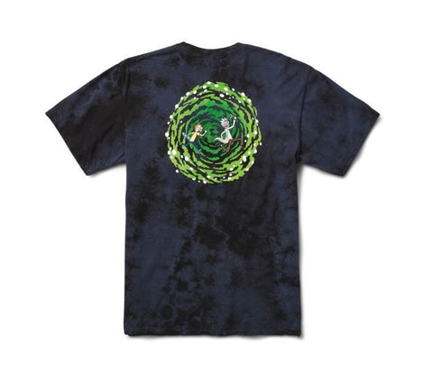 Primitive x Rick and Morty Nuevo Portal Washed T-Shirt (Navy)